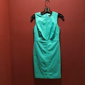 Beautiful Turquoise Green Shift Dress